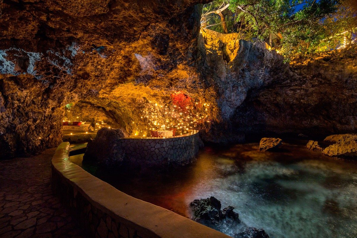 The Caves Hotel Private Dining For Couples  Resort In